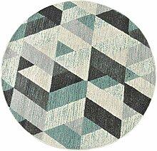 QDY-Teppich Runde geometrische Nordic Minimalist