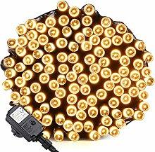 Qedertek LED Lichterkette Strombetrieben 20m 200