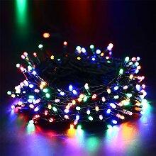 Qedertek Lichterkette Batterie, 10M 100 LED