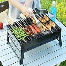 Qeedio BBQ Grill tragbarer Klappgrill