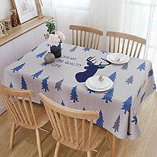 QERTYU Wasserdicht und ölbeständig einweg Tisch