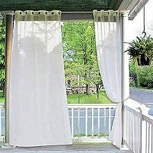 QETUOA 2 Stück Pavillon Terrasse Outdoor-Netz