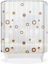 QEWA® Shower Curtains Duschvorhänge Vorhang PEVA Wasserdichter Schimmelfest Feuchtigkeitsbeständiger undurchsichtiger Schrubbender Badezimmer Ausdehnungsplastik Duschvorhang mit Haken , 200*220cm