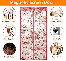 QF Magnet fliegengitter Tür insektenschutz