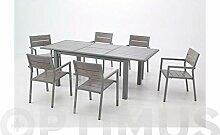 QF PLUS Tisch ausziehbar Dark 152–210x