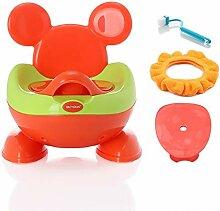 QFbp Große Kinder-WC-Toilette Kind Baby Urinal