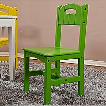 QFFL Kinderstuhl Haushaltschüler Stuhl Kindergarten Stuhl Hocker Baby Essen Stuhl grün 645 * 300mm Outdoor Hocker
