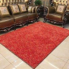 QFFL Teppich Feel Smooth Verschlüsselung Teppich Wohnzimmer Zimmer Familie Teppich 5 Farben erhältlich Größe Optional Treppenstufenmatte ( Farbe : C , größe : 120*170cm )