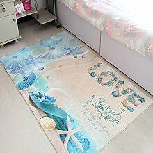 QFFL Teppich Feel Smooth Verschlüsselung Teppich Wohnzimmer Zimmer Familie Teppich 5 Farben erhältlich Größe Optional Treppenstufenmatte ( Farbe : A , größe : 120*180cm )