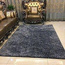 QFFL Teppich Feel Smooth Verschlüsselung Teppich Wohnzimmer Zimmer Familie Teppich 5 Farben erhältlich Größe Optional Treppenstufenmatte ( Farbe : A , größe : 140*200cm )