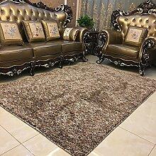 QFFL Teppich Feel Smooth Verschlüsselung Teppich Wohnzimmer Zimmer Familie Teppich 5 Farben erhältlich Größe Optional Treppenstufenmatte ( Farbe : B , größe : 120*170cm )