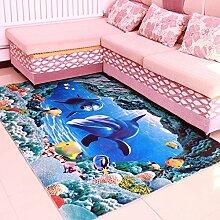 QFFL Teppich Feel Smooth Verschlüsselung Teppich Wohnzimmer Zimmer Familie Teppich 5 Farben erhältlich Größe Optional Treppenstufenmatte ( Farbe : B , größe : 120*180cm )