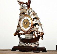QFQ Vintage European Sailing Tischuhr/Dekorative