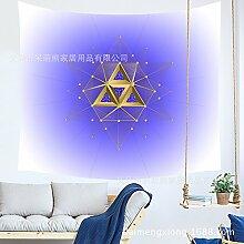 QGUATAN Wandbehang Wand Hintergrund Tuch Mandala
