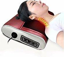 QGUO Massagekissen Shiatsu Massagegerät, mit 16