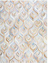 QHF Ultra Rutschfester Kuhfell-Teppich für den