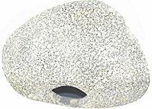 QHGstore Aquarium Keramik Höhle, Stein, Dekoration für Aquarium spezielle Entwurfsgrau 17cm*12.5cm*9cm