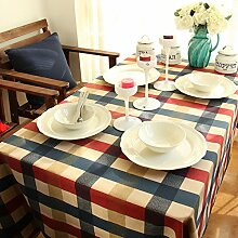 QHGstore Elegante Vintage England Art Dinning Kaffeetisch Baumwolltuch Covering 140*140cm
