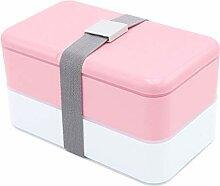 qhtongliuhewu Bento Box für Erwachsene, Kinder,