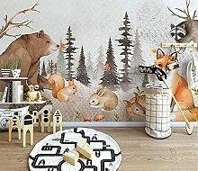 QHZSFF Dekoration Wandbild Bemalte Tiere