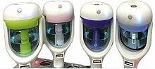 QI Auto Aromatherapie -Befeuchter Usb-Autoladegerät Mini-Auto-Luftbefeuchter Luftreiniger , Pink , 57*56*162Mm,pink,57*56*162mm