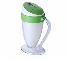 QI Usb-Mini-Luftbefeuchter Kleines Nachtlicht Luftbefeuchter Luftreiniger , Green , 14.5#9.5#6.5Cm,green,14.5#9.5#6.5cm