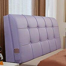 QIANCHENG-Cushion Kopfteil Kissen Bett