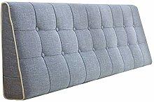 QIANCHENG-Cushion Kopfteil Kissen für Bett