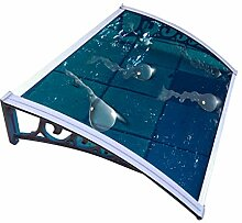 QIANDA Vordach Haustür Überdachung, UV-Schutz