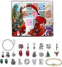 qianele Armband, Weihnachten Adventskalender