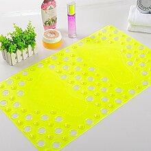 QIANG QQT Größe PVC Badematte,Mit Einem