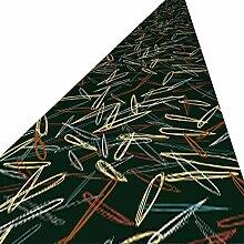 QiangDa-didian Läufer Flur Teppich rutschfest