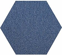 QiangDa Flur Teppich Fliese Selbstklebend Hexagon