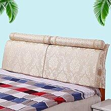 QiangDa Flusenbett Rückenlehne Bett Kissen Positionierung Stützkissen Bett Kissen Abnehmbare Weiche Anti-Falten, 5 Farben 4 Größen Erhältlich (Farbe : 1#, Größe : 150*55cm)
