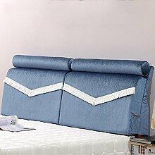 QiangDa Flusenbett Rückenlehne Bett Kissen Positionierung Stützkissen Bett Kissen Abnehmbare Weiche Anti-Falten, 5 Farben 4 Größen Erhältlich (Farbe : 3#, Größe : 150*55cm)