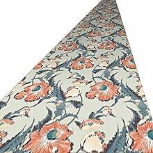 QiangDa Läufer Flur Teppich 2 Blumenmuster