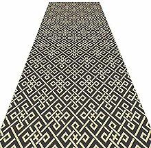 QiangDa Läufer Flur Teppich Lange Polyester
