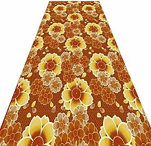 QiangDa Läufer Flur Teppich Polyester Langer
