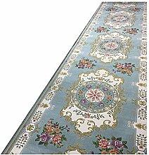 QiangDa Läufer Flur Teppich Vliesboden