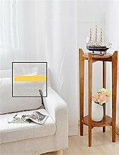 QiangDa Pflanze Regal- Bambus Wohnzimmer Flower Stand Blumen-Rack-European Creative Multi - Layer-Innenblumentopf Shelf Eingelegtes Regal kreatives Blumengestell (größe : 78cm)