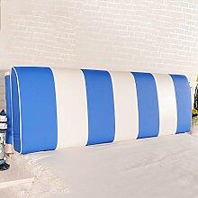 QiangDa Vertikale Bar Bett Rückenlehne Positionierung Support Kissen für das Spielen von Telefon im Bett, 7 Farben 6 Größen zur Verfügung ( Farbe : Dream blue , größe : 200*58*12cm )