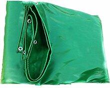 QIANGDA Zeltplanen Markisen Plane Gewebeplane Wasserdicht Staubdicht Gartenarbeit Sonnenschutz Auto Schuppen Frostschutz Korrosionsschutz, PVC, Grün Dicke 0,48 Mm, 500 G / M², 6 Größe Optional Bootsplane Allzweckplane ( Farbe : Grün , größe : 4x6M )