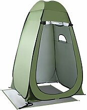 QIANGGAO Camping Toilette Zelt Pop Up Dusche