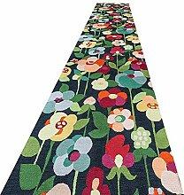 QIANMEI Teppichläufer Läufer Teppich rutschfest