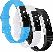 Qianyou 3PCS Fitbit Alta Armband Silikon, Fitbit