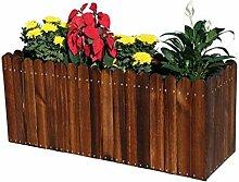 QIANZICAIDIAN Holz-Blumenkasten Outdoor