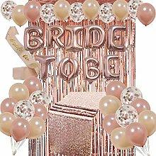 QIAO heiß zu Sein Bride Rose Gold Buchstaben -