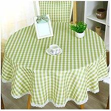 Qiao jin &Tischdecke Tischdecke Kleine Runde Tisch