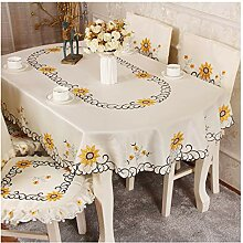 Qiao jin &Tischdecke Tischdecke - Oval Tisch
