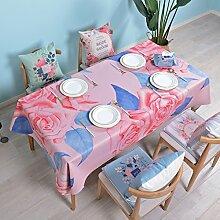 Qiao jin Tischdecke Tischdecken aus Baumwolle